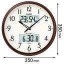 ITM-650J-5JF【税込】 カシオ 電波掛時計 [ITM650J5JF]【返品種別A】【送料無料】【RCP】