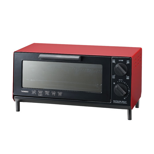 TS-4035R ツインバード オーブントースター レッド