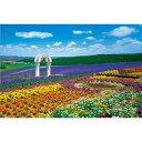 日本の風景・花 花の咲く丘−富良野 300ピース エポック社