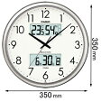 ITM-650J-8JF【税込】 カシオ 掛時計 [ITM650J8JF]【返品種別A】【送料無料】【RCP】