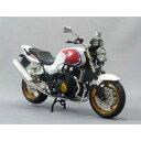 1/12 完成品バイク CB1300 SUPER FOUR(ホワイト/レッド)【95317】 【税込】 アオシマ [ABK CB1300 SUPER FOUR]【返品種別B】【RCP】