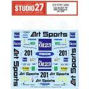 1/24 MAZDA 787 #201 ArtSports LM 1990 オリジナルデカール(スタジオ27対応)【ST27-DC967】 スタジオ27