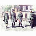 1/35 ドイツ将校 & 女性兵士【35611】 ICM