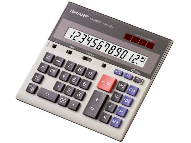 CS-2130L シャープ 卓上電卓 12桁 [...の商品画像