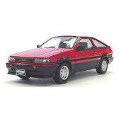 1/43 TOYOTA AE86 LEVIN GT APEX 3ドア 前期型(レッド/ブラック)【K03761R】 【税込】 京商 [K03761R AE86 LEVIN レッド]【返品種別B】【1201_flash】