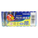 LR03L10MP【税込】 東芝 アルカリ乾電池単4形 10本パック TOSHIBA [LR03L10MP]【返品種別A】【RCP】