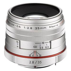 HD-DA35/マクロSL ペンタックス HD PENTAX-DA 35mmF2.8 Macro Limited (シルバー) ※DAレンズ(デジタル専用) [HDDA35マクロSL]【返品種別A】