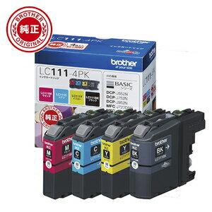 LC111-4PK【税込】 ブラザー ブラザー純正インク(4色セット) [LC1114PK]【返品種別A】【送料無料】【RCP】