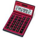 JS-201SK-RD-N【税込】 カシオ 本格実務電卓 12桁 [JS201SKRDN]【返品種別A】【送料無料】【RCP】