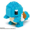 【再生産】nanoblock(ナノブロック)ポケットモンスター ゼニガメ【NBPM-004】 【税込】 カワダ [ナノBポケモンゼニガメ]【返品種別B】【RCP】