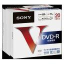 20DMR12MLPS【税込】 ソニー 16倍速対応DVD-R 20枚パック 4.7GB ホワイトプリンタブル SONY [20DMR12MLPS]【返品種別A】【RCP】