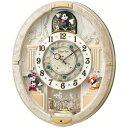 FW574W【税込】 セイコークロック ディズニー 掛時計 からくり掛時計 [FW574W]【返品種別A】【送料無料】【1021_flash】