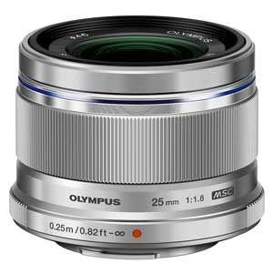 25MMF1.8(シルバー)【税込】 オリンパス M.ZUIKO DIGITAL 25mm F1.8(シルバー) ※マイクロフォーサーズ用レンズ [25MMF18シルバ]【返品種別A】【送料無料】【RCP】