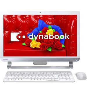 PD61454LBXW【税込】 東芝 デスクトップパソコン dynabook D614/54LW(Microsoft Office Home and ...
