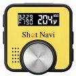 SHOTNAVI V1 Y【税込】 ショットナビ GPSゴルフナビ(イエロー) Shot Navi V1 [SHOTNAVIV1Y]【返品種別A】【送料無料】【RCP】