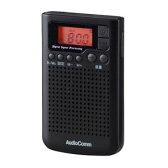 RAD-F300N-K【税込】 オーム AM/FM DSPポケットラジオ(ブラック) AudioComm OHM [RADF300NK078157]【返品種別A】【RCP】