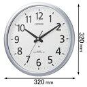 8MY493-019【税込】 シチズン 掛時計 スペイシーアクア493 [8MY493019]【返品種別A】【送料無料】【RCP】