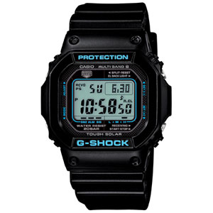 GW-M5610BA-1JF カシオ G-SHOCK BLACK× BLUE Series Gショック ソーラー電波時計 メンズタイプ [GWM5610BA1JF]【返品種別A】
