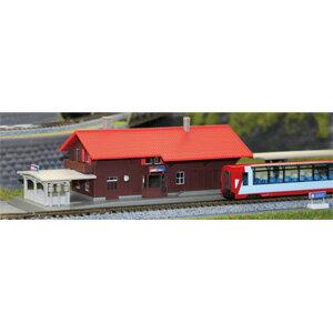 [鉄道模型]カトー KATO (Nゲージ) 23-245A アルプスの氷河特急 スイスの駅舎 【税込】 [カトー 23-245A]【返品種別B】【RCP】