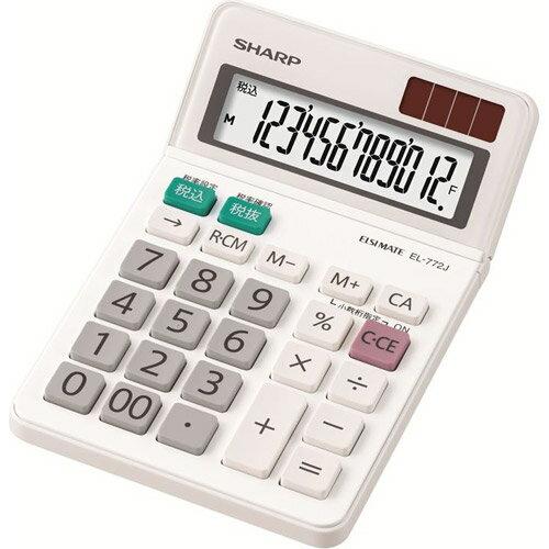 EL-772-JX シャープ 電卓 ミニナイスサ...の商品画像