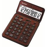 EL-VN82-TX【】 シャープ 卓上電卓 12桁(ブラウン) 50周年記念モデル [ELVN82TX]【返品種別A】【RCP】