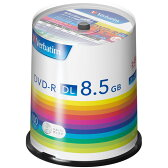DHR85H100SV1【税込】 バーベイタム データ用8倍速対応DVD-R DL100枚パック片面8.5GB シルバーレーベル [DHR85H100SV1]【返品種別A】【送料無料】【RCP】