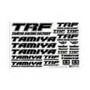 TRFステッカーC(ミラーエッジ/ブラック)【42246】 【税込】 タミヤ [T 42246 TRFステッカーC]【返品種別B】【RCP】