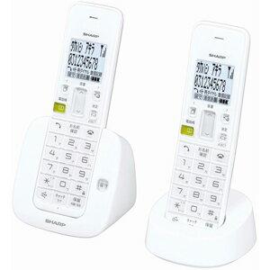JD-S07CW-W【税込】 シャープ デジタルコードレス留守番電話機(子機1台)ホワイト [JDS07CWW]【返品種別A】【送料無料】【RCP】