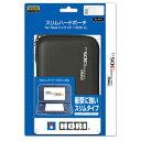 【New3DS LL】スリムハードポーチ for Newニンテンドー3DS LL ブラック 【税込】 ホリ [3DS-422]【返品種別B】【RCP】