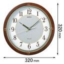 SF-232-B【税込】 セイコークロック ソーラー電波掛け時計 [SF232B]【返品種別A】【送料無料】【RCP】