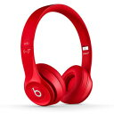 BEATS SOLO2-RED【税込】 ビーツ バイ ドクタードレ Solo2 オンイヤーヘッドフォン(レッド) Apple BEATS BY DR.DRE BT ON SOLO2 RED [RED] MH8Y2PA/A [BEATSSOLO2RED]【返品種別B】【送料無料】【RCP】