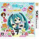 【3DS】初音ミク Project mirai でらっくす セガ CTR-P-BRXJ
