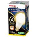LDA8L-G/60W 東芝 LED電球 一般電球形 810lm(電球色相当) TOSHIBA E-CORE(イー・コア)全方向タイプ [LDA8LG60W]【返品種別A】