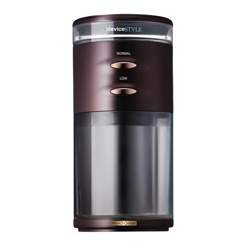 GA-1X-BR【税込】 デバイスタイル 電動コーヒーミル ブラウン deviceSTYLE コーヒーグラインダー GA-1X Special Edition [GA1XBR]【返品種別A】【送料無料】【RCP】