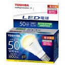 LDA6L-H-E17/S50W/2【税込】 東芝 LED電球 ミニクリプトン電球形 600lm(電球色相当) TOSHIBA E-CORE(イー・コア) [L...