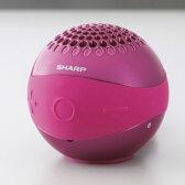 WS-BL1-P【税込】 シャープ Bluetooth対応ワイヤレススピーカーシステム(ピンク) SHARP [WSBL1P]【返品種別A】【RCP】