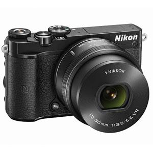 N1J5-LK-BK【税込】 ニコン Nikon 1 J5 標準 パワーズームレンズキット(ブラック) [N1J5LKBK]【返品種別A】【送料無料】【RCP】