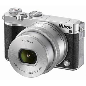 N1J5-LK-SL【税込】 ニコン Nikon 1 J5 標準 パワーズームレンズキット(シルバー) [N1J5LKSL]【返品種別A】【送料無料】【RCP】