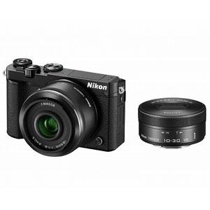 N1J5-WLK-BK【税込】 ニコン Nikon 1 J5 ダブルレンズキット(ブラック) [N1J5WLKBK]【返品種別A】【送料無料】【RCP】