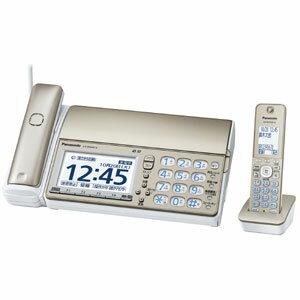 KX-PD604DL-N【税込】 パナソニック デジタルコードレス普通紙FAX(子機1台) シャンパンゴールド Panasonic おたっくす [KXPD604DLN]【返品種別A】【送料無料】【RCP】