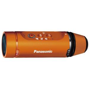 パナソニック ウェアラブルカメラ(オレンジ) [HXA1HD]