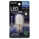 LDT1N-G-E17-G110【税込】 ELPA LED電球 ナツメ形 40lm(昼白色相当) elpaballmini [LDT1NGE17G110]【返品...