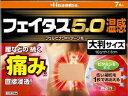 【第2類医薬品】フェイタス5.0温感大判サイズ7枚入 久光製薬 フエイタス5.0オンカンオオバン7マ