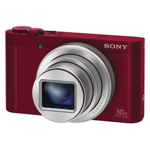 DSC-WX500-R【税込】 ソニー デジタルカメラ「WX500」(レッド) SONY Cyber-shot(サイバーショット) DSC-WX500 [DSCWX500R]【返品種別A】【送料無料】【RCP】