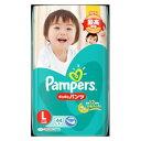 ショッピングパンパース パンパースさらさらケアパンツ スーパ−ジャンボ L44枚 P&GJapan パンパ-スSJL44