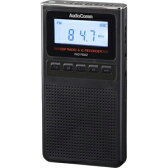 RAD-F830Z-K【税込】 オーム 録音機能付きラジオ(ブラック) AudioComm OHM [RADF830ZK078370]【返品種別A】【送料無料】【RCP】