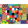 プリズムアートパズル エルマーのとくべつな日(ぞうのエルマー)108ピース 【税込】 やのまん [ヤノマン61-24エルマーノトクベツナヒ]【返品種別B】【RCP】
