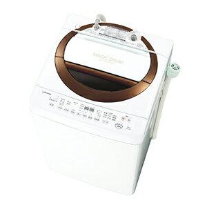 AW-6D3M-T【税込】 東芝 6.0kg 全自動洗濯機 ブラウン TOSHIBA マジックドラム [AW6D3MT]【返品種別A】【oogata1129】【送料無料】【RCP】