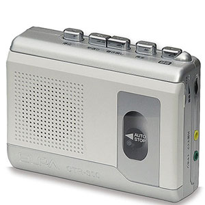カセット テープレコーダー
