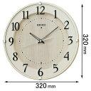 KX397A【税込】 セイコークロック 掛時計 [KX397A]【返品種別A】【送料無料】【RCP】